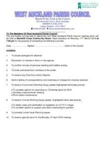 thumbnail of Agenda 110319 (3)
